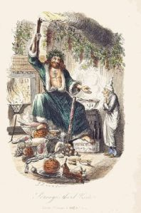 Ghost of Christmas Past, illus. John Leech, 1843 for Dickens' A Christmas Carol