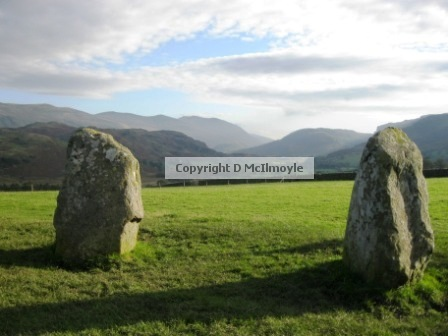 Castlerigg, view south